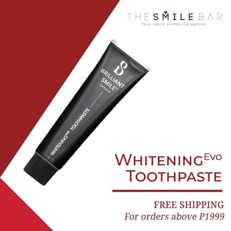 The Smile Bar offers teeth whitening products like toothpaste that you can use for whitening teeth